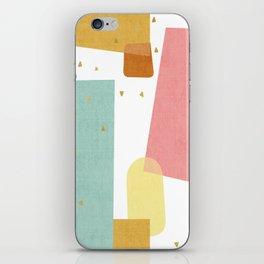 Confetti in Pastel iPhone Skin