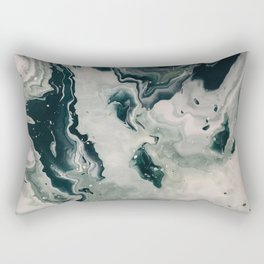 Galaxy Marble Swirl Rectangular Pillow