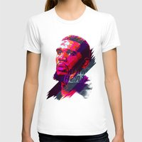 greg guillemin T-shirts featuring GREG ODEN MIAMI HEAT by mergedvisible