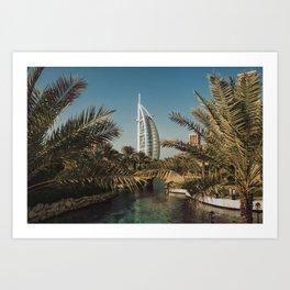 Burj Al Arab - Dubai Art Print