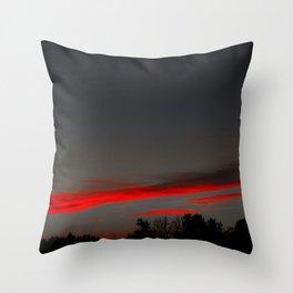 Clifford's Landing Throw Pillow