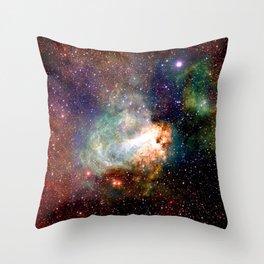 Omega Nebula Throw Pillow