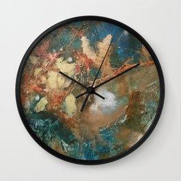 Copper Splash Wall Clock
