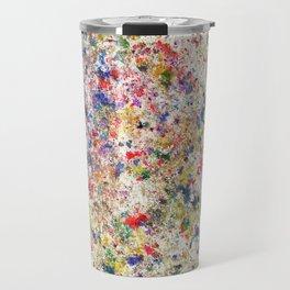 Abstract Artwork Colourful #7 Travel Mug