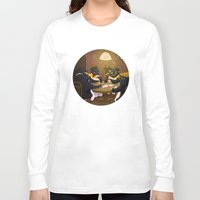 poker Long Sleeve T-shirts featuring Poker by happymiaow