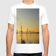 Tranquility  Mens Fitted Tee MEDIUM White