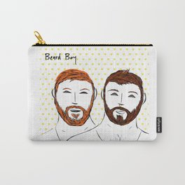 Beard Boy: Couple of Men Carry-All Pouch