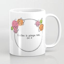 Floral - Ladies Coffee Mug