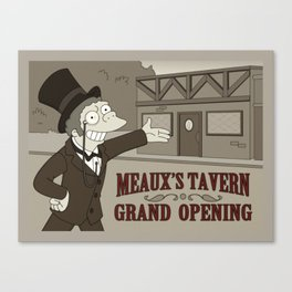 Meaux's Tavern Canvas Print