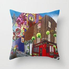 Dublin & Proud Throw Pillow