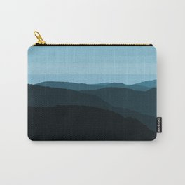 Blue Mountainscape Carry-All Pouch