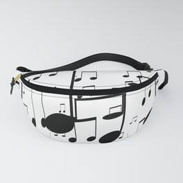 music notes Fanny Pack