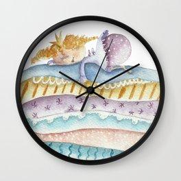 Princess on the Pea Wall Clock