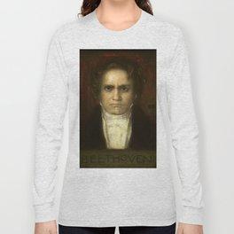 Ludwig van Beethoven (1770-1827) by Franz von Stuck (1863 - 1928)(2) Long Sleeve T-shirt