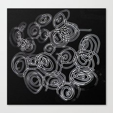 Curled Canvas Print