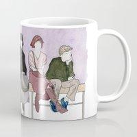 the breakfast club Mugs featuring The Breakfast Club by DJayK