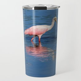 Roseate Spoonbill at Ding II Travel Mug