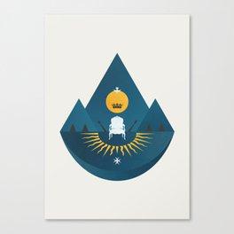 The Sun King Canvas Print