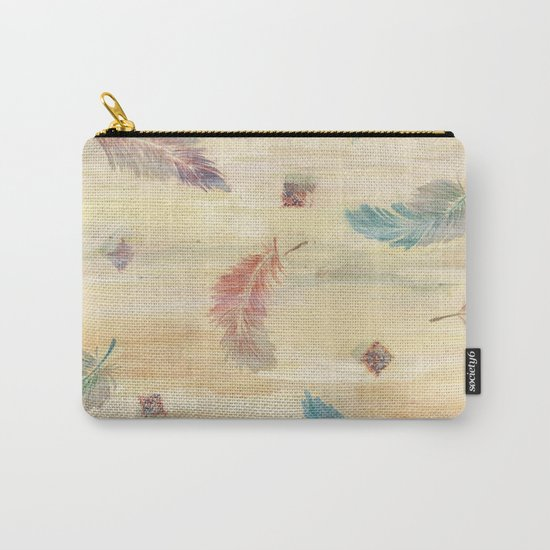 feather weather Carry-All Pouch