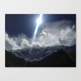 Salkantay Trail Peru Canvas Print