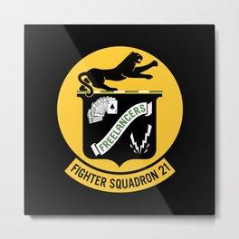 Fighter Squadron Twenty One VF-21 Freelancers Metal Print