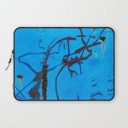 Azure Coarse Laptop Sleeve