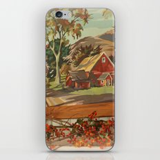 Autumn Moments iPhone & iPod Skin