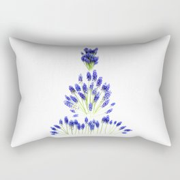 Grape Hyacinth Rectangular Pillow