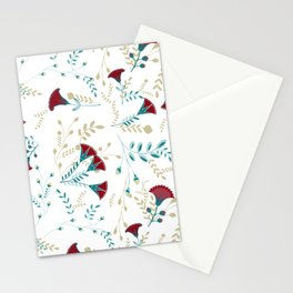 Egyptian Papyrus Flowers Stationery Cards