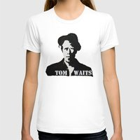 tom waits T-shirts featuring Tom Waits Painting by All Surfaces Design