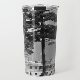 Vintage Lake George: The Sagamore Docks at Green Island Travel Mug