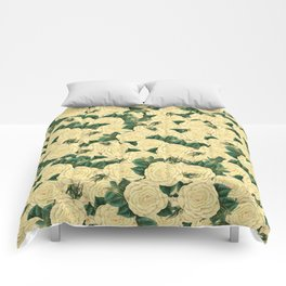 Yellow Rose Comforters