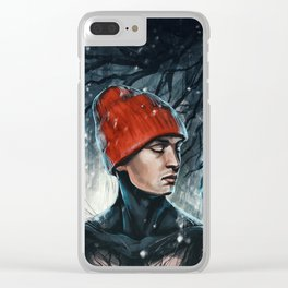 Gangsters don't cry Clear iPhone Case