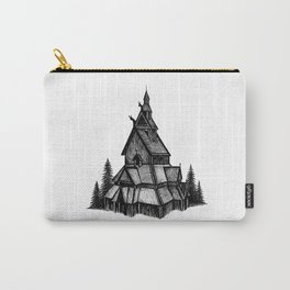 Borgund Stave Church Carry-All Pouch