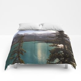 Reflections / Landscape Nature Photography Comforters