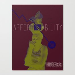 Hungerfree - affordability Canvas Print