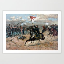 Sheridan's Ride -- Civil War Art Print