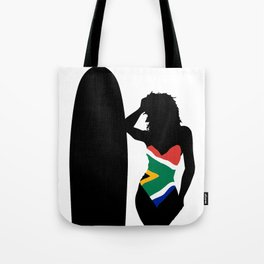 South Africa Swimsuit Tote Bag