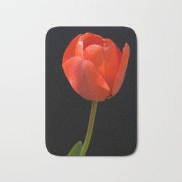 Red Tulip Bath Mat