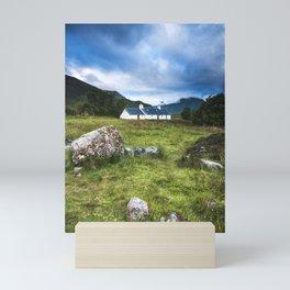 Cottage in Glencoe Mini Art Print