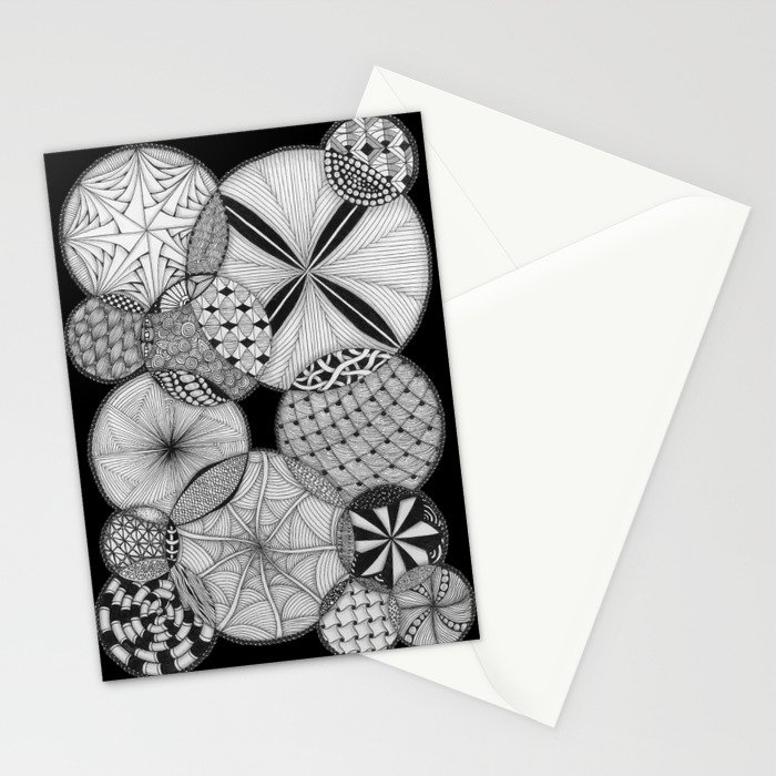 Zentangle®-Inspired Art - ZIA 53 Stationery Cards