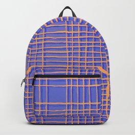 Left - Blue and Orange Backpack