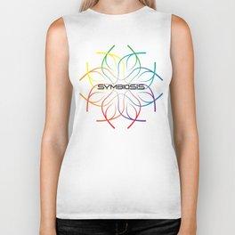 Symbiosis Gradient Logo Biker Tank