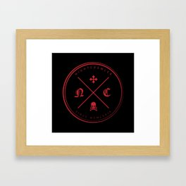 Nightcrawler Logo Framed Art Print