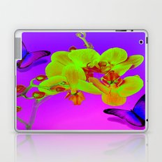 Orchid and butterfly Laptop & iPad Skin