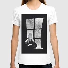 Rainy Day in a Paris Café T-shirt