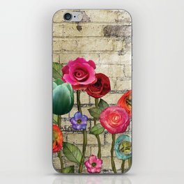 Wallflowers 1 iPhone Skin