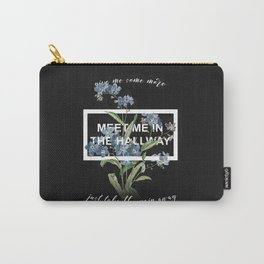 Harry Styles Meet me in the hallway graphic design artwork Carry-All Pouch