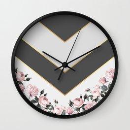 Always beautiful roses Wall Clock