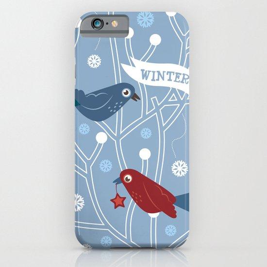 4 Seasons - Winter iPhone & iPod Case